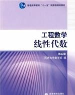 工程数学 线性代数 第五版 课后答案 (同济大学数学系) - 封面